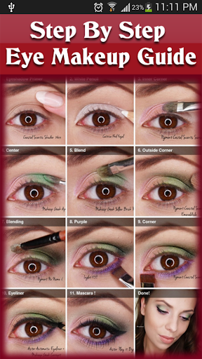 免費下載生活APP|Step By Step Eye Makeup Guide app開箱文|APP開箱王