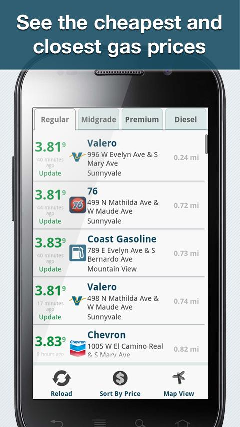 Gas Stations Near Me >> GasBuddy - Find Cheap Gas - Android Apps on Google Play