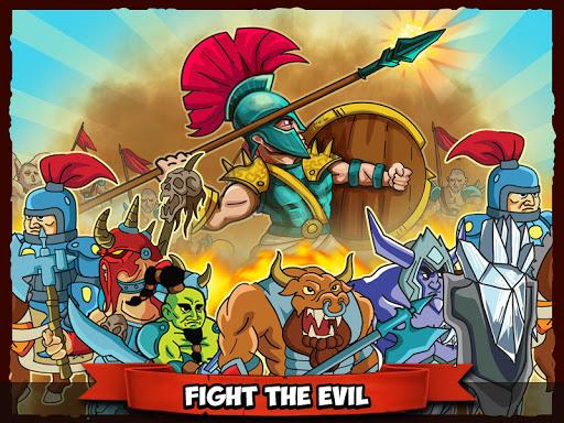 Spartan defense: War at castle