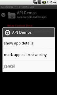 App Permission Watcher Screenshot