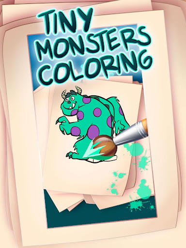 Tiny Monsters Coloring