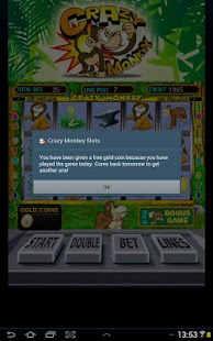 Crazy monkey slot- screenshot thumbnail
