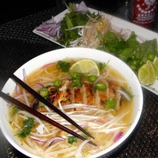 Vietnamese Chicken Noodle Soup—Pho Ga.