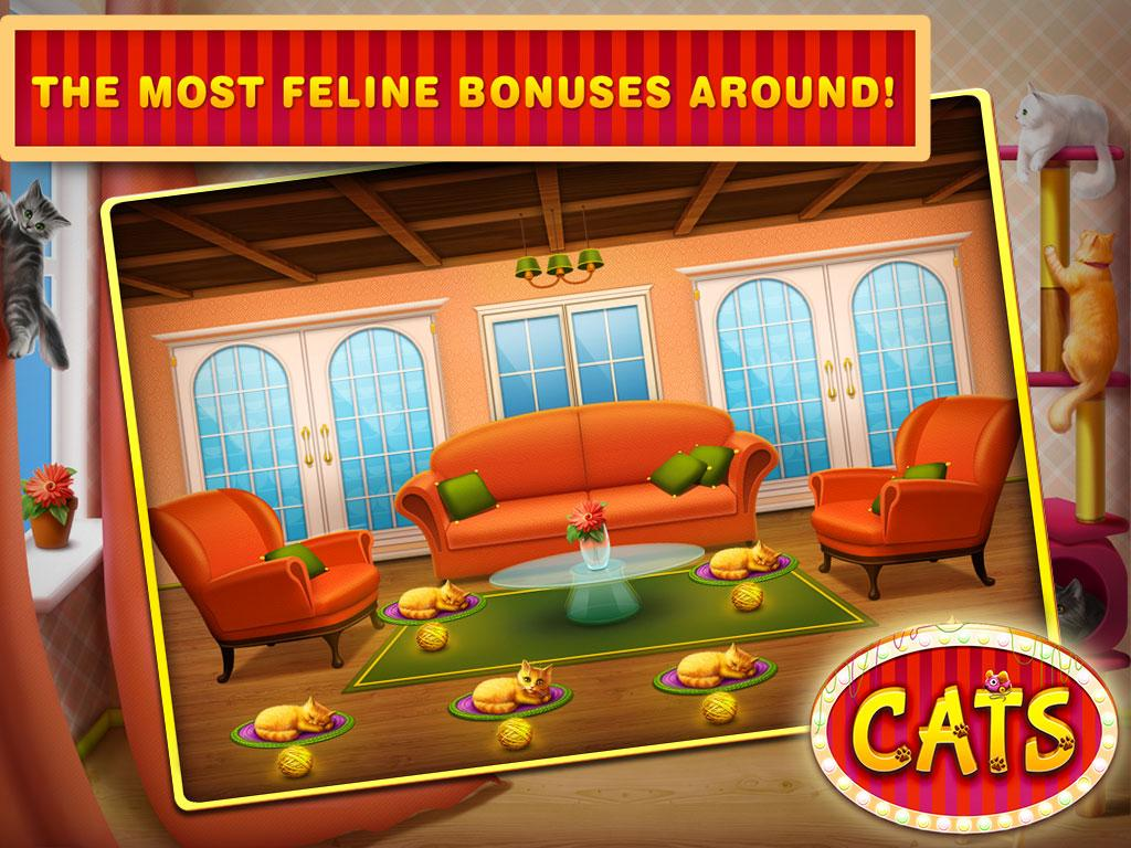 Cats Slots Casino Vegas Free- screenshot