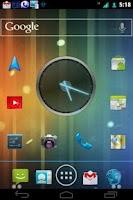 Screenshot of ICS 3D Mint CM7 Theme