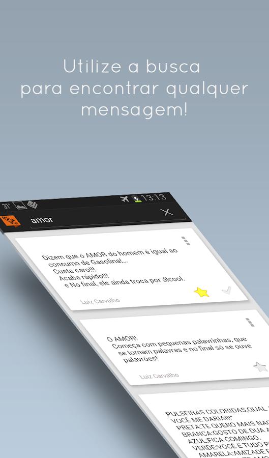 Droido - Mensagens SMS prontas - screenshot