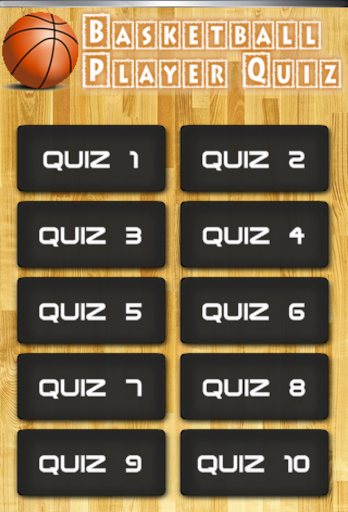 Basketball Players Quiz