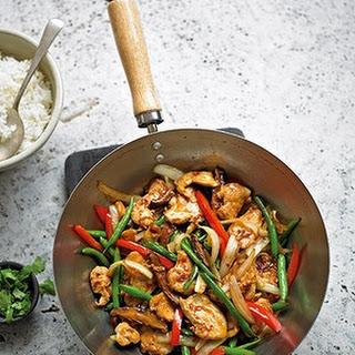 Spicy Chicken Stir-fry.