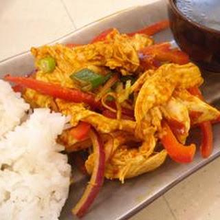 Curry Chicken Stir-fry.
