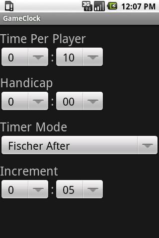 Game Clock- screenshot