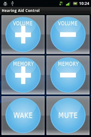 Hearing Aid Control- screenshot
