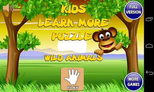 婴儿儿童游戏记忆拼图 动物 Kids Game Puzzle