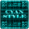 NEXT LAUNCHER CYANSTYLE THEME icon
