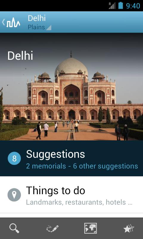 India Travel Guide by Triposo - screenshot