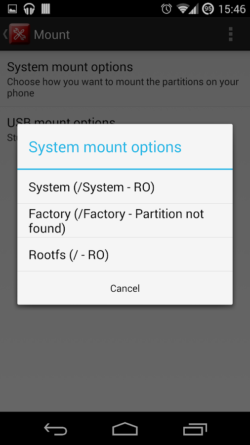 Root Toolbox FREE- screenshot
