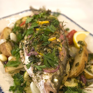 how to cook mediterranean sea bass