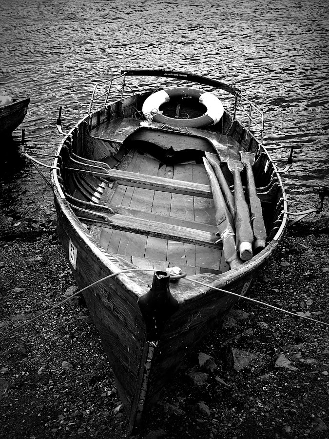 Waiting Abroad by Vanalapha Chuasritrakul - Black & White Objects & Still Life (  )