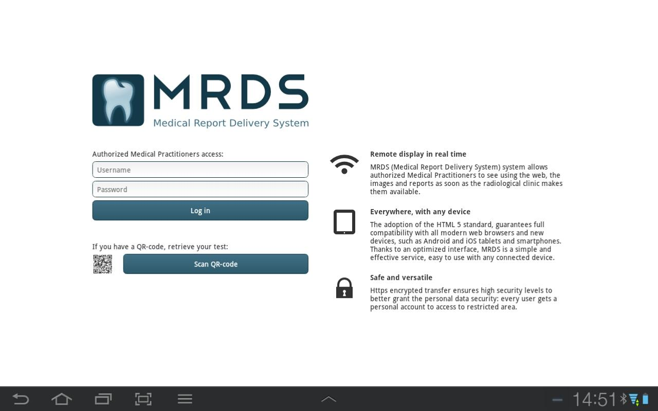 MRDS - screenshot
