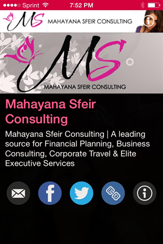 Mahayana Sfeir Consulting