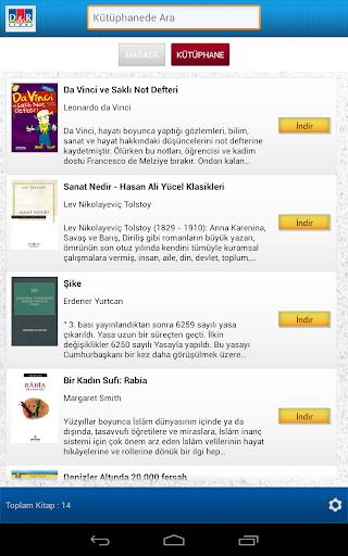D R E-Kitap Okuyucu-Tablet