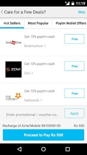 Mobile Recharge, DTH, Shopping - screenshot thumbnail