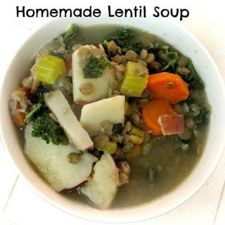 Easy Lentil Soup.