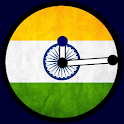 Indian Flag Clock Widget icon