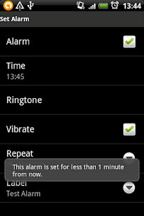 SnoozeThenStopAlarm - screenshot thumbnail