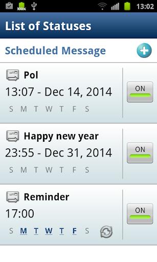 Auto SMS Scheduler Sender