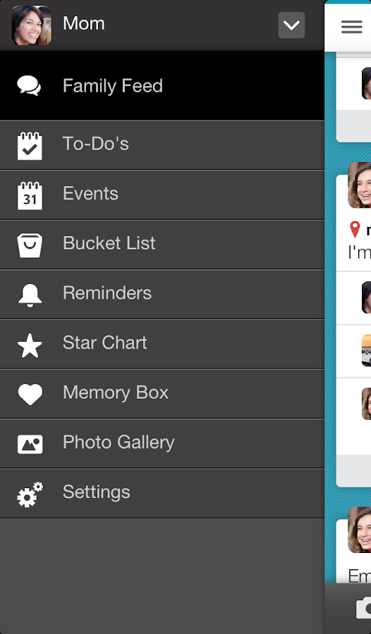 Family Sharing & Planning - screenshot
