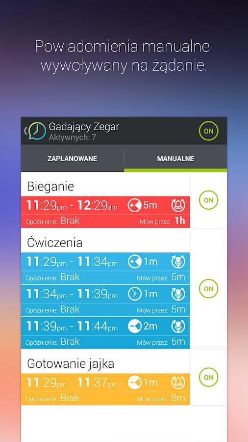 Gadający Zegar - screenshot