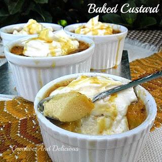 Baked Custard Recipe
