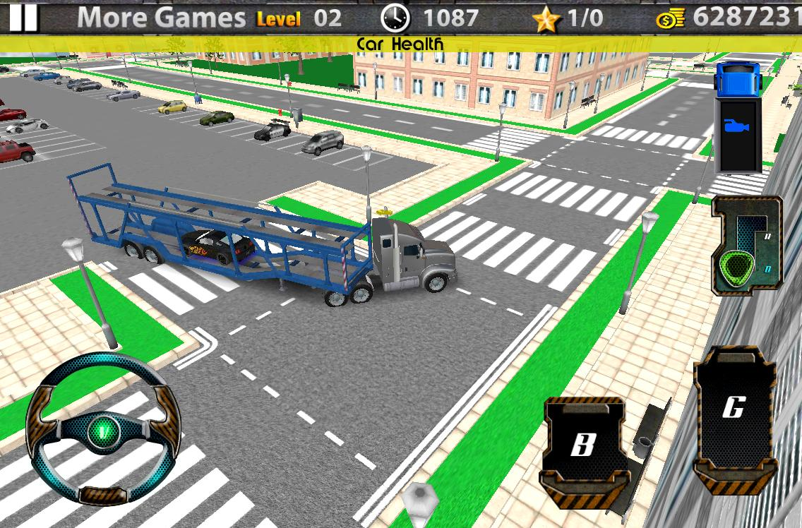 3d car transport trailer truck android apps on google play
