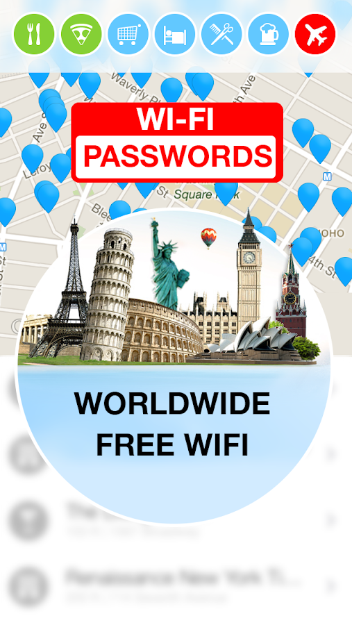 Screenshots of WiFi Map — Free Passwords for Android