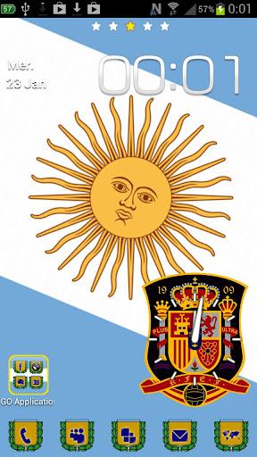Go launcher Argentina Light
