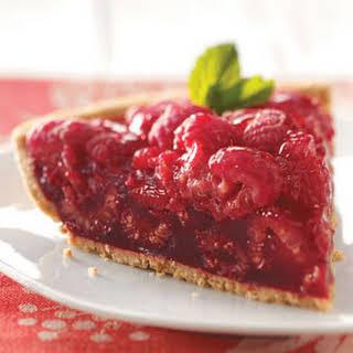 Fresh Raspberry Pie.