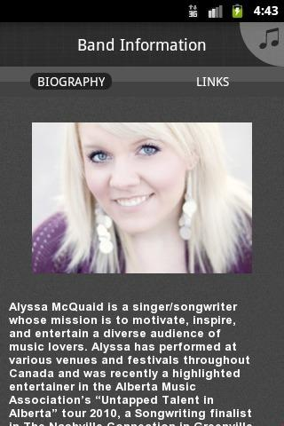 Alyssa McQuaid - screenshot