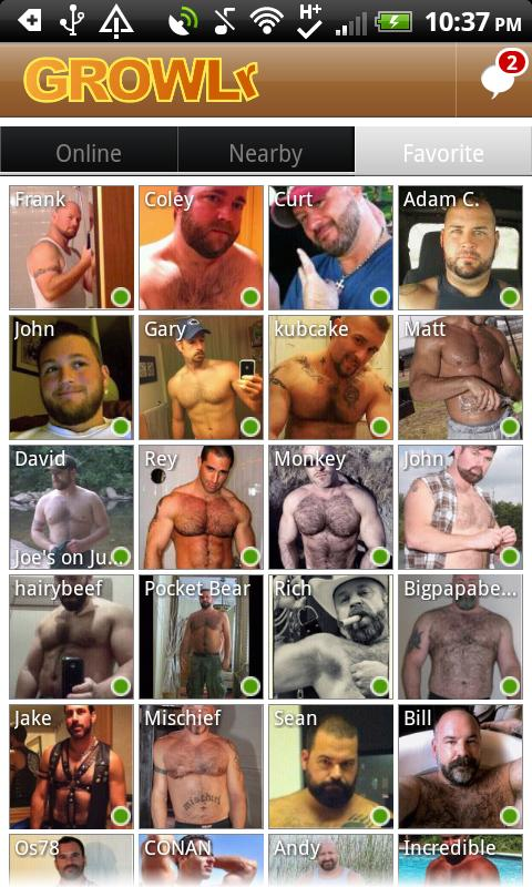 GROWLr: Gay Bears Near You - screenshot
