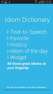 Idiom Dictionary- screenshot thumbnail