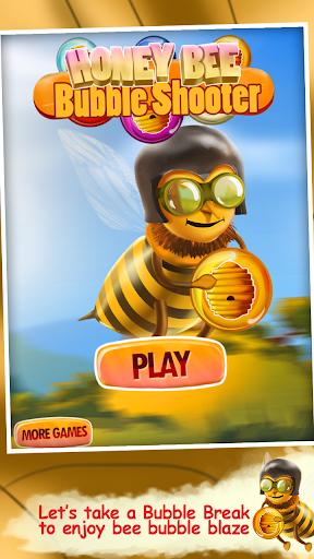蜜蜂泡泡射擊