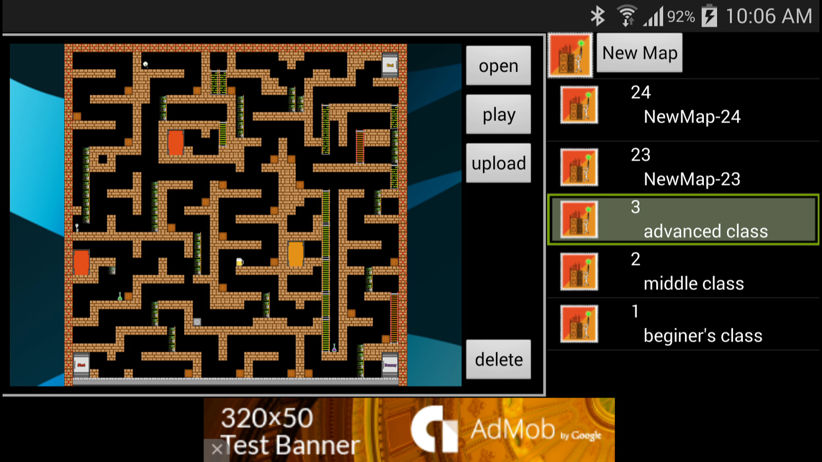 MapEditor for Confused Escape2- screenshot