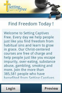 Setting Captives Free Mobile - screenshot thumbnail