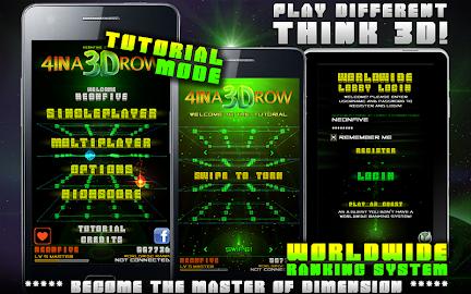4 IN A 3D ROW LITE Screenshot 15