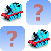 Thomas train toys memory game