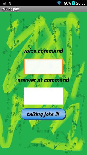 Talking joke