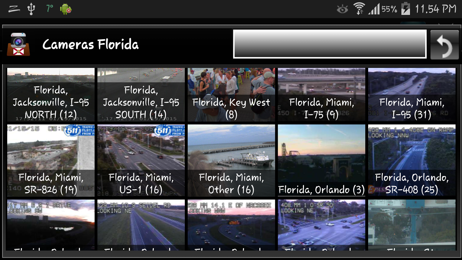 Florida Cameras Traffic Cams Android Apps On Google Play - Florida map i 95
