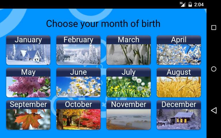 Match with date of birth and time