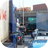 Hafen Hamburg LKW