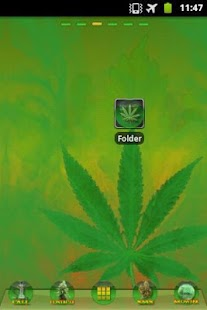 Ganja Theme GO Launcher EX- screenshot thumbnail