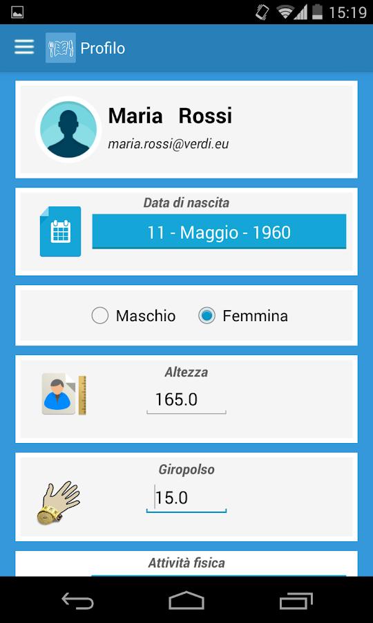 Diario Alimentare - screenshot